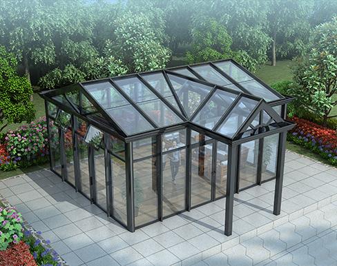 高性能型  玻璃阳光房