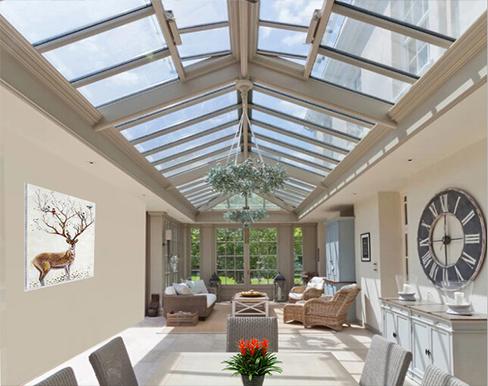 豪华型高性能  玻璃采光顶